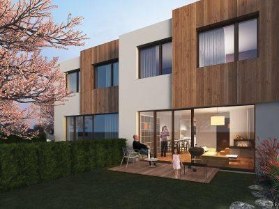 Třešňovka - Pro ty, kdo chtějí bydlet ve vlastním domku se zahradou a nepřijít o výhody města