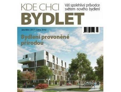 Jarní vydání tištěného katalogu KDE CHCI BYDLET přináší aktuální přehled i nabídku nového bydlení v ČR