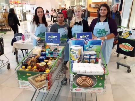 Když realiťáci pomáhají... Next reality přispělo do Národní potravinové sbírky