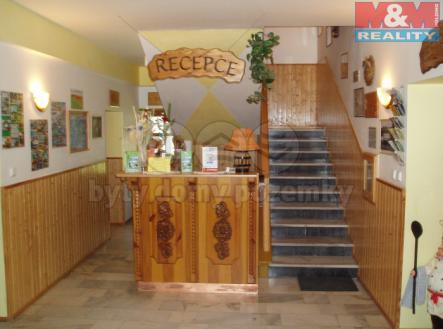 Recepce | Prodej - hotel, 1240 m²