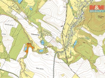 mapka | Prodej - pozemek, les, 8570 m²