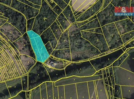 mapka | Prodej - pozemek, trvalý travní porost, 1753 m²