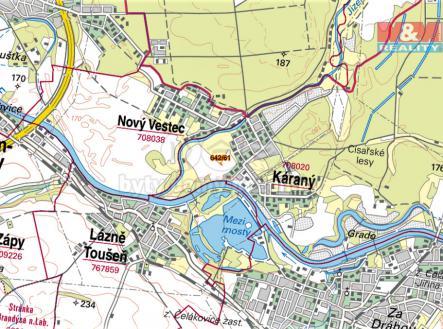 mapka | Prodej - pozemek, zemědělská půda, 105 m²