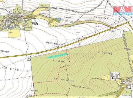 mapka | Prodej - pozemek, zemědělská půda, 3189 m²