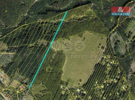 mapka | Prodej - pozemek, trvalý travní porost, 6050 m²