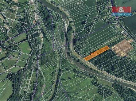 mapka   Prodej - pozemek, les, 7006 m²