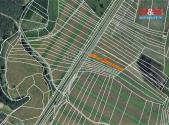 Prodej - pozemek, zemědělská půda, 1262 m²