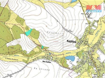 mapka | Prodej - pozemek, trvalý travní porost, 7920 m²