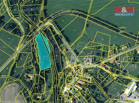mapka   Prodej - pozemek, trvalý travní porost, 4473 m²