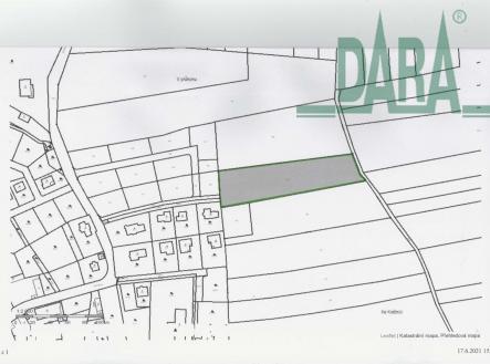 . | Prodej - pozemek, zemědělská půda, 6234 m²