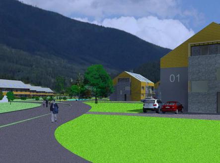 foto: 2 | Areál  v Ostravici vhodný pro developerskou výstavbu bydlení
