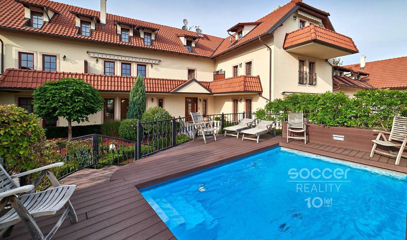 Pronájem bytu 3+kk, 110 m2, ulice Povltavská, Praha 8 - Troja.