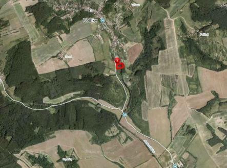 Pronájem - pozemek, trvalý travní porost, 801 m²