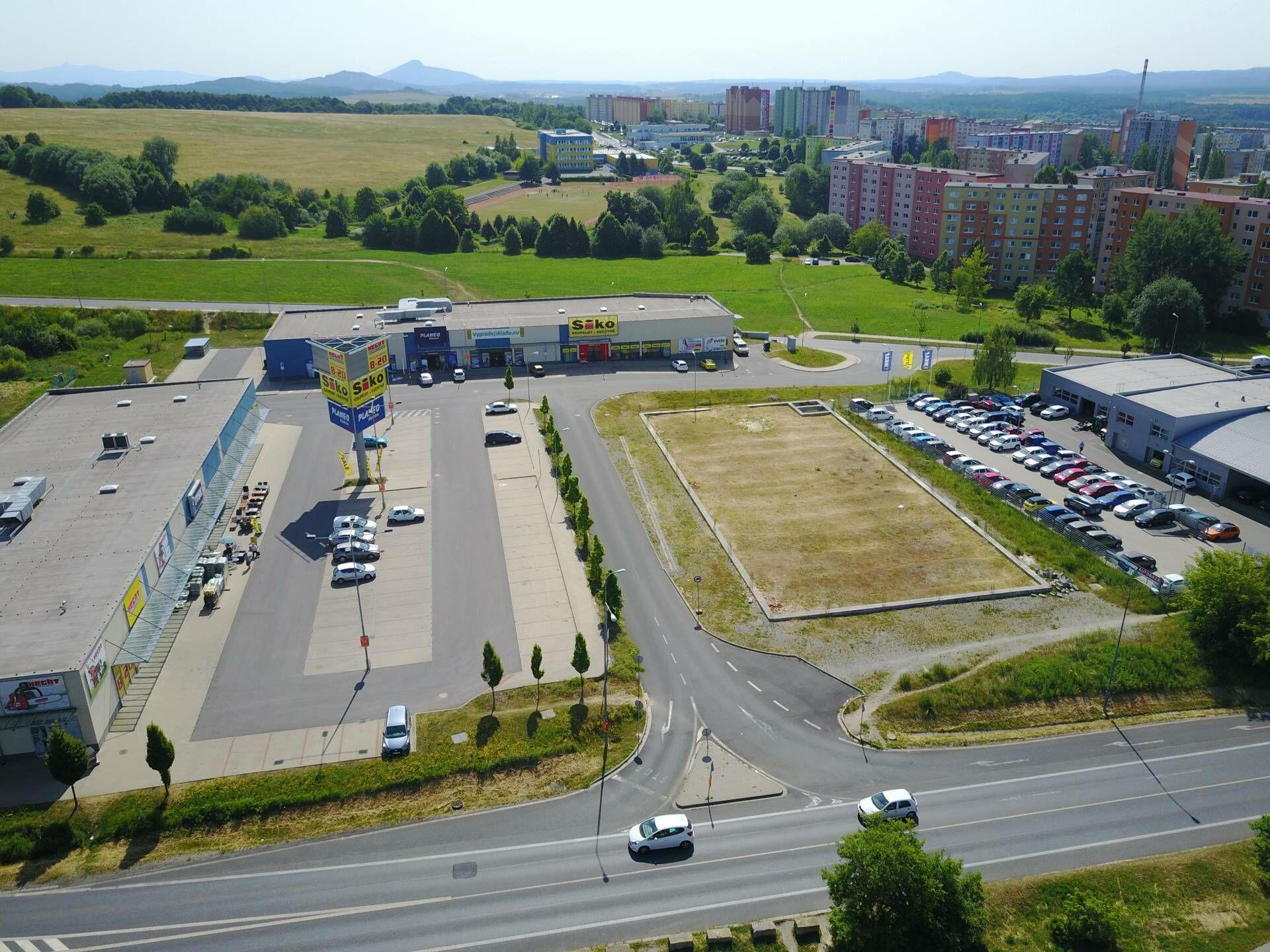 Obchodní prostory Česká Lípa, 152,63 m2