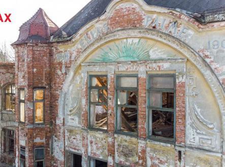 Detail fasády | Prodej - historický objekt, 6622 m²