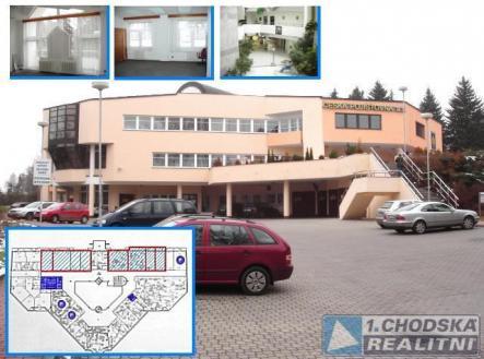 . | Pronájem - kanceláře, 14 m²