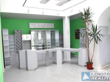 . | Pronájem - obchodní prostor, 100 m²