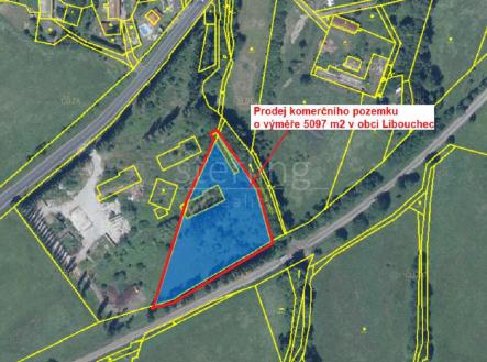 Prodej - pozemek pro komerční výstavbu, 5093 m²