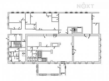 Prodej - komerční objekt, obchodní centrum, 1450 m²